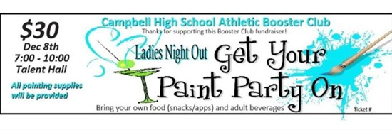 Ladies Night Out- Paint Party
