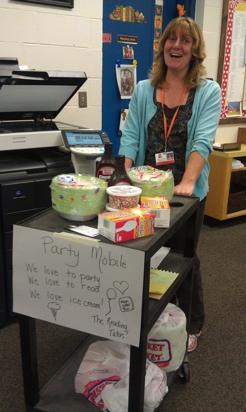 Ms. Tate's Ice Cream Party Chat
