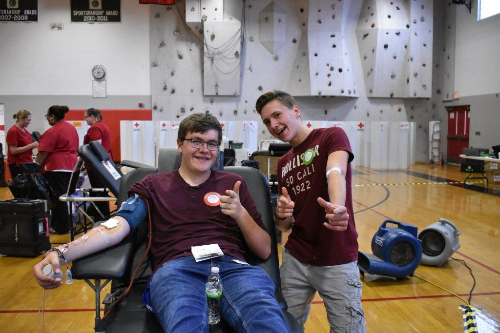 NHS Successful Blood Drive!
