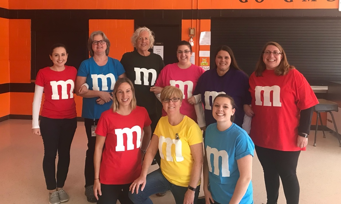 A fantastic team of M & Ms