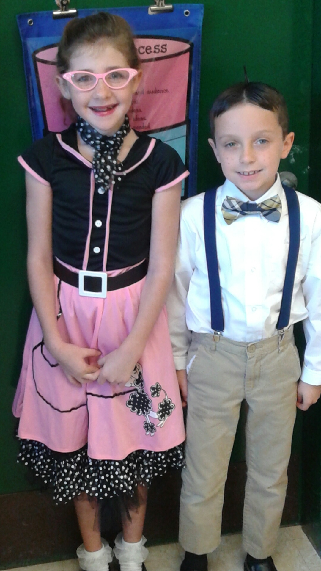Halloween Costumes-Isabella and Eddie