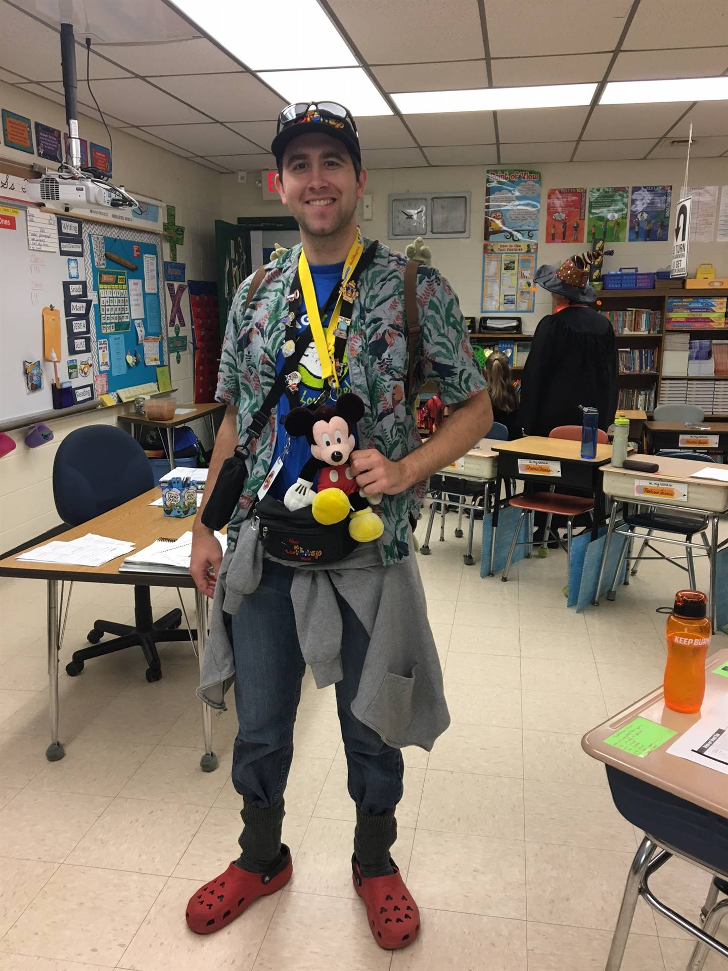 "Mr. ""Disney Tourist"" Mallory"