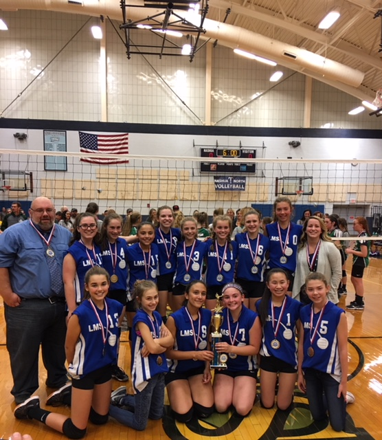2017 LMS Volleyball Champs