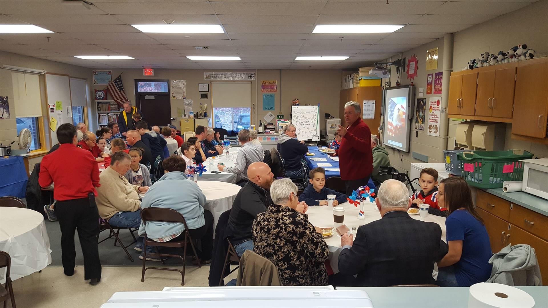 2017 Veterans Day Breakfast at LMS