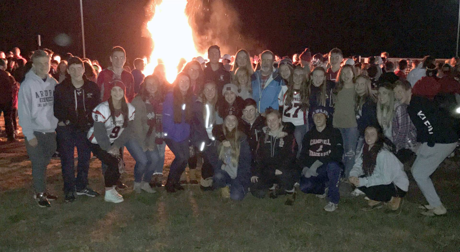 Homecoming 2017 Bonfire