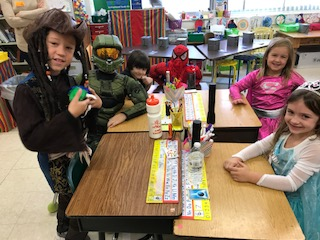 Halloween-Mrs. Anctil's students