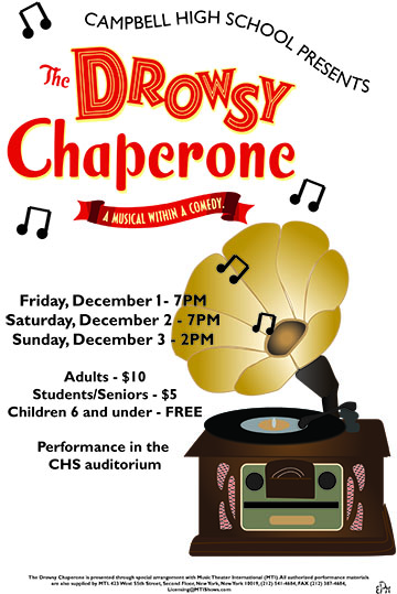 Drowsy Chaperone- artwork by Emily Puchalski