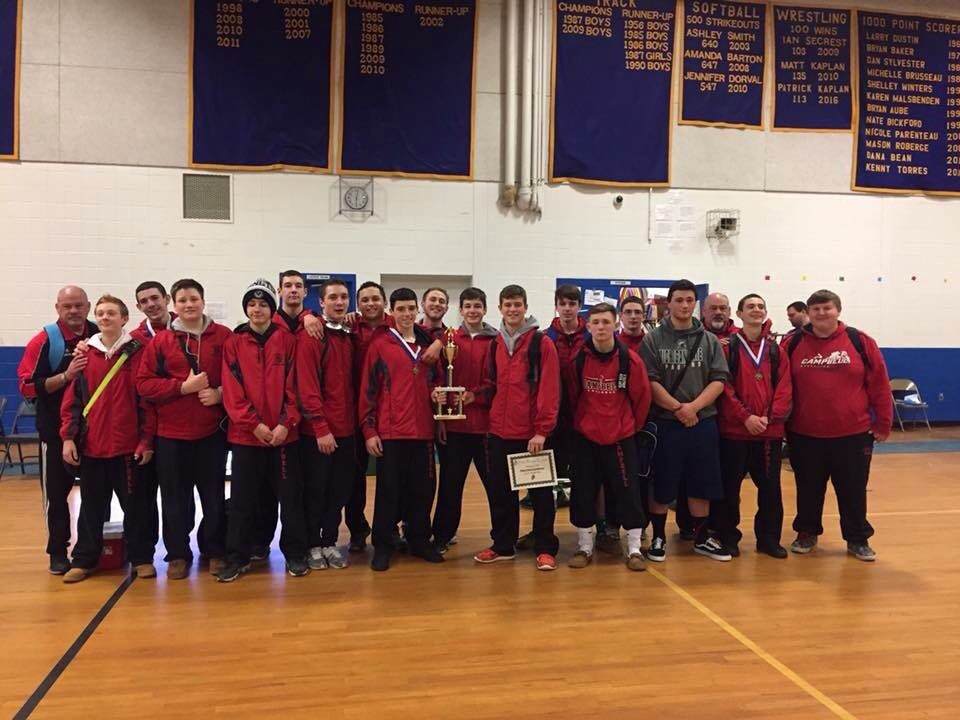 CHS Champion Wrestling team.