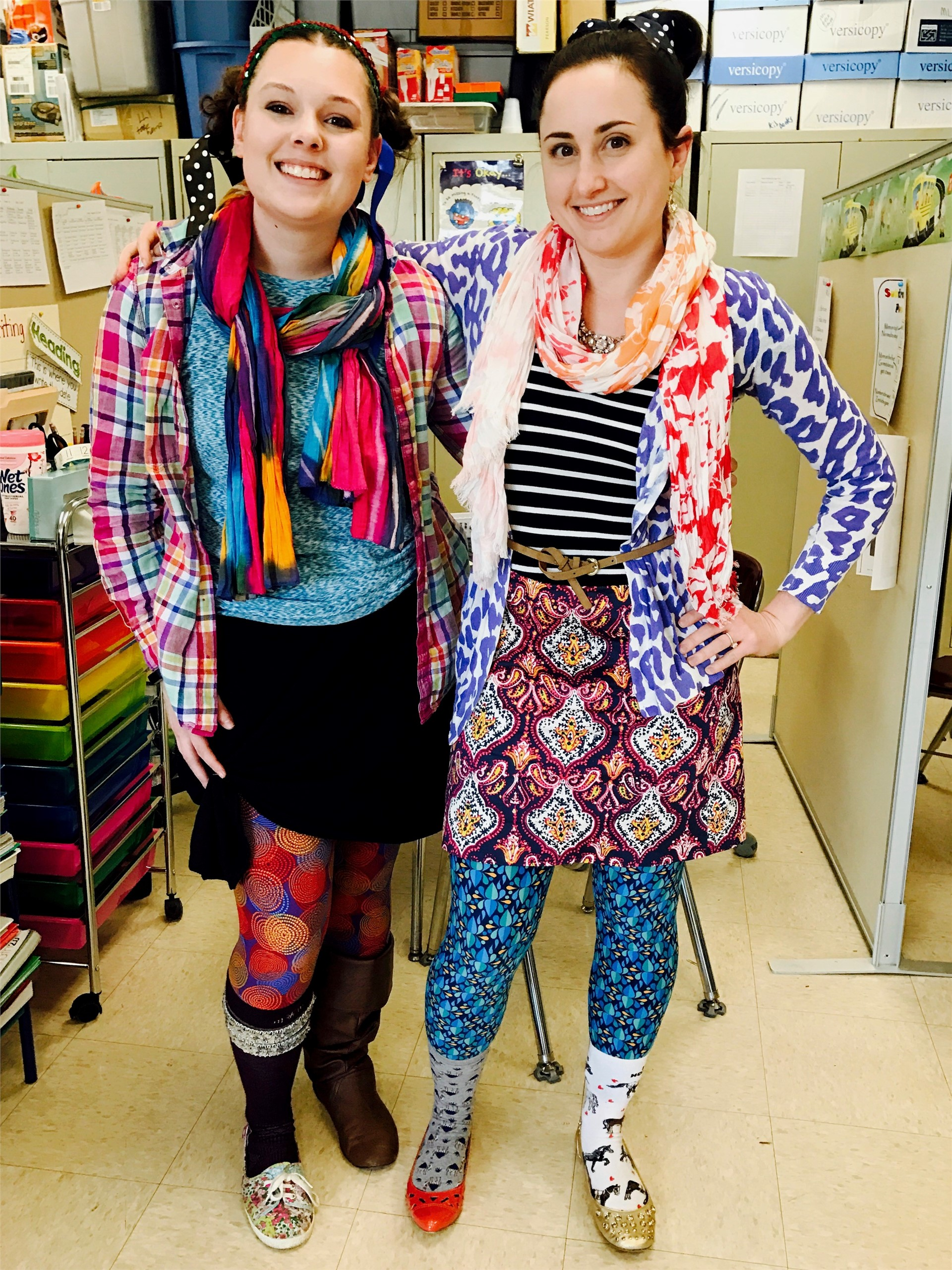 Wacky Wednesday- Miss. West and Miss. Goldfarb