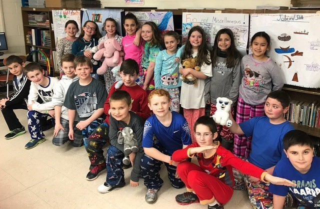 PJ day-Mrs. Leary's class