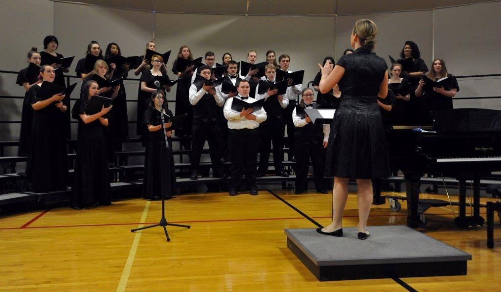 High School Chorus is led by Ms. Pennington