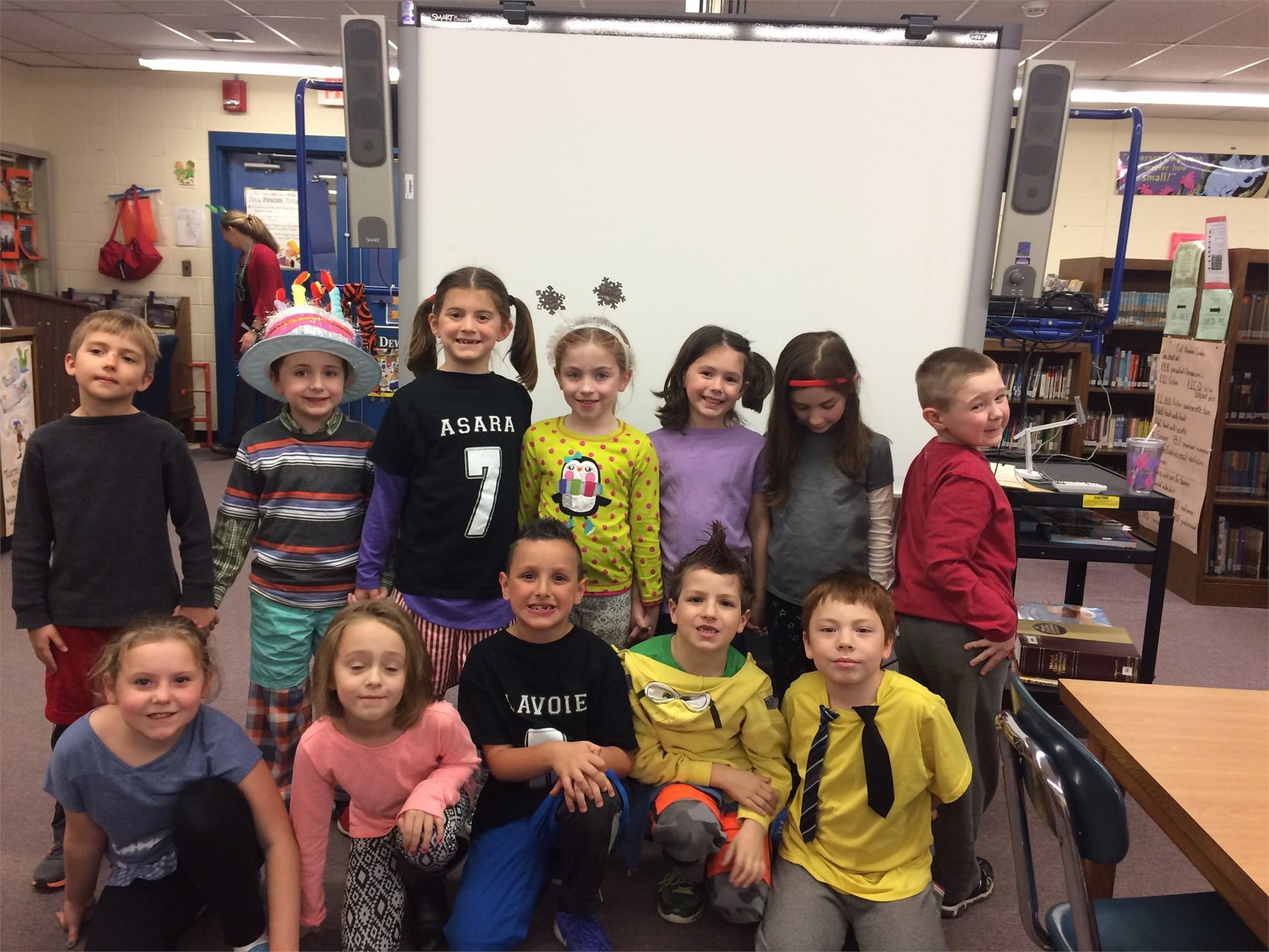 Read Across America-Wacky Wednesday-Mrs. Beach's Grade 1