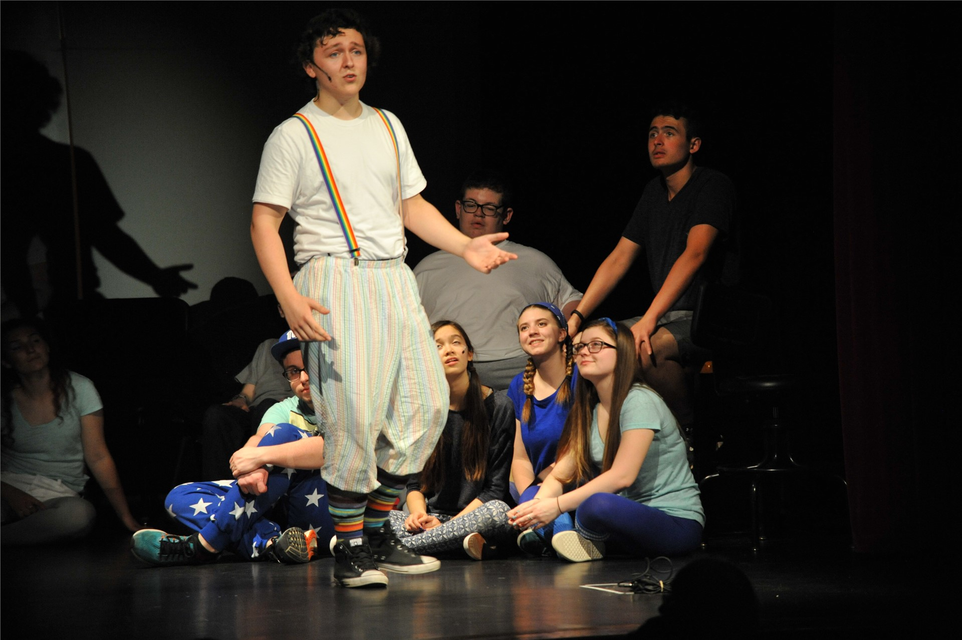 Godspell photo by Mrs. Freeman