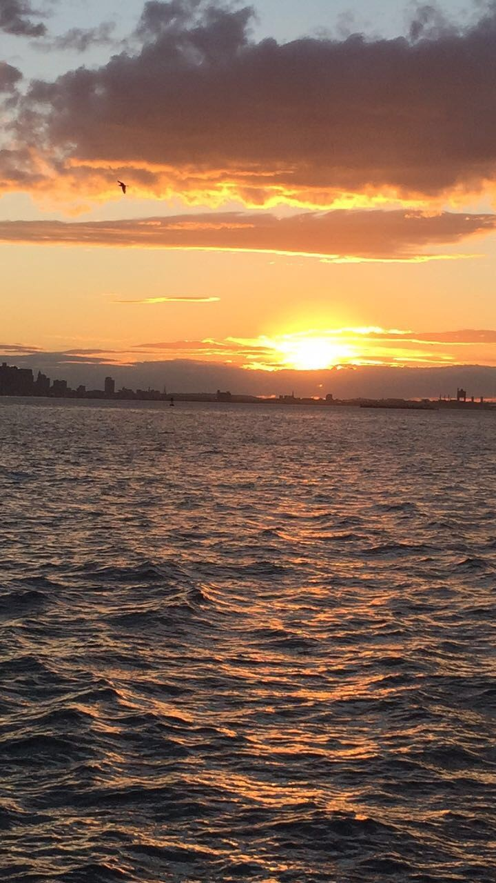 Sunset on the Senior Cruise