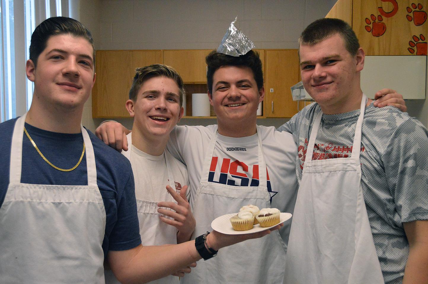 Winner for Taste -Campfire Cupcake