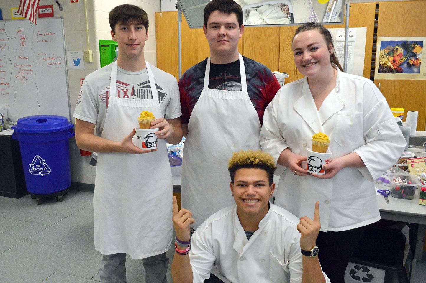 Winner for Presentation - Colonel's Cupcake