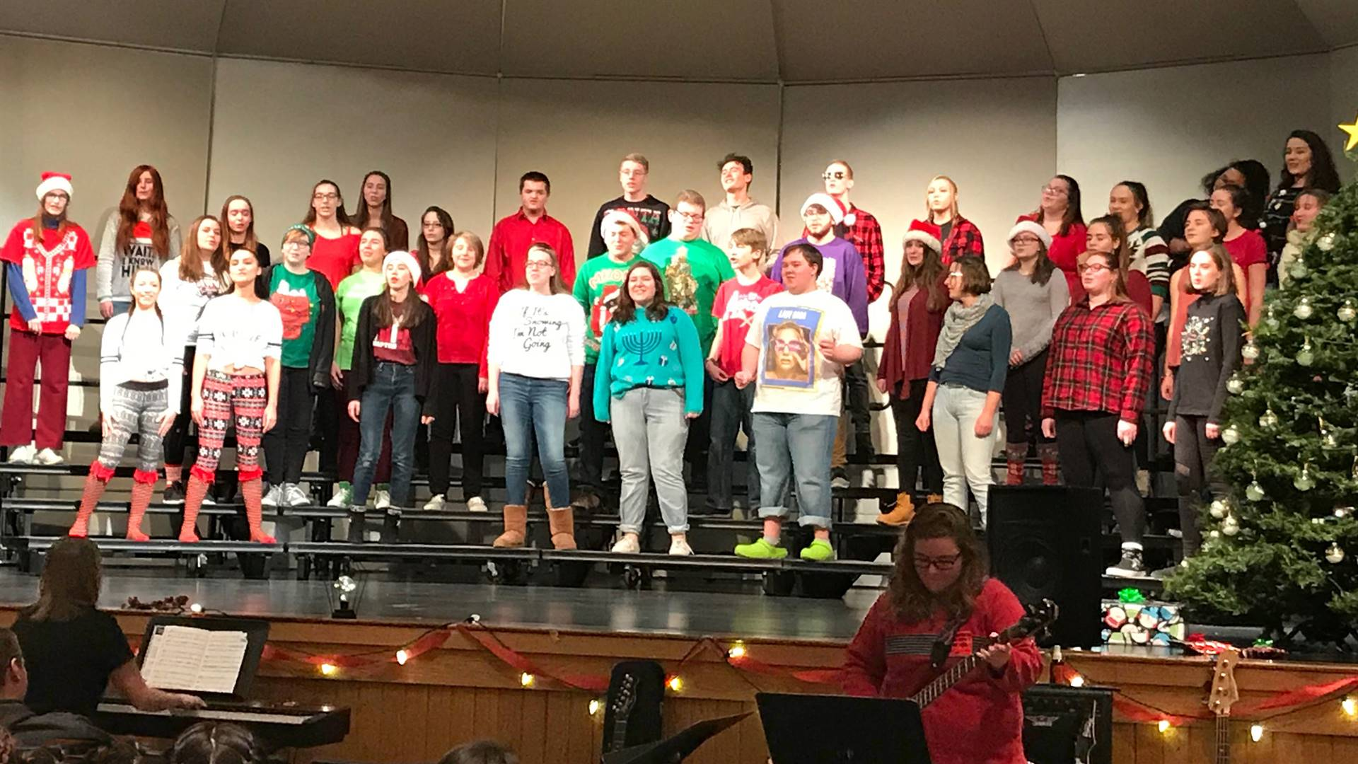Combined Chorus with Alumni