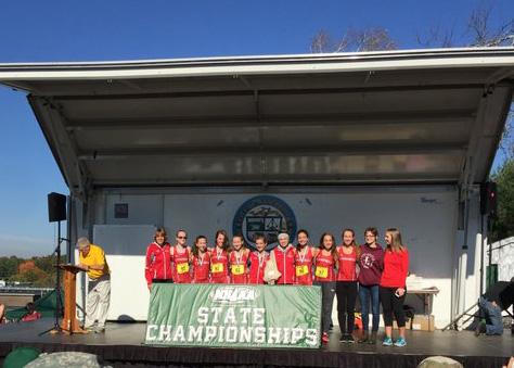 Girls Cross Country Champions 2017