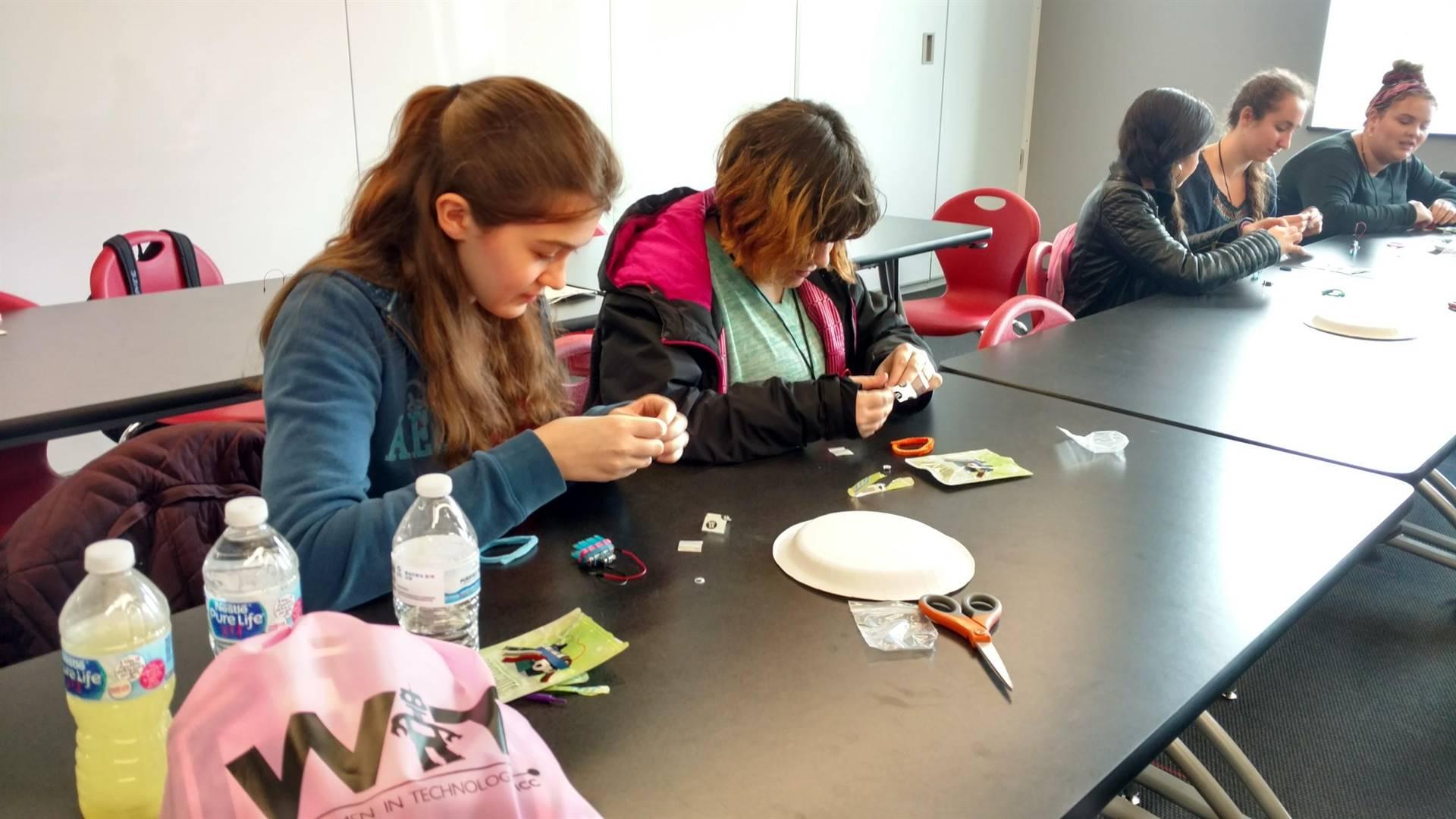 NH Girls TECH Day Field Trip 2018