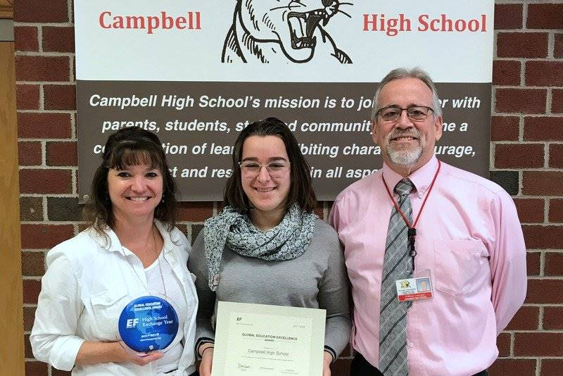 Campbell High School receives Global Ed Award