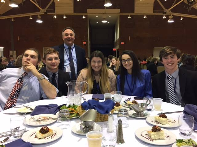 FBLA 46th State Leadership Conference dinner