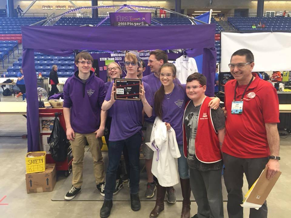 CHS's FIRST Robotics competition at UNH