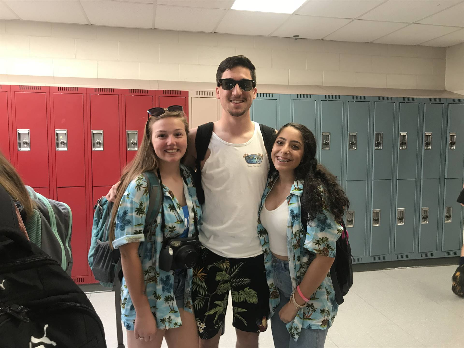 Emily G, Jake S. & Liv G. ready for the beach