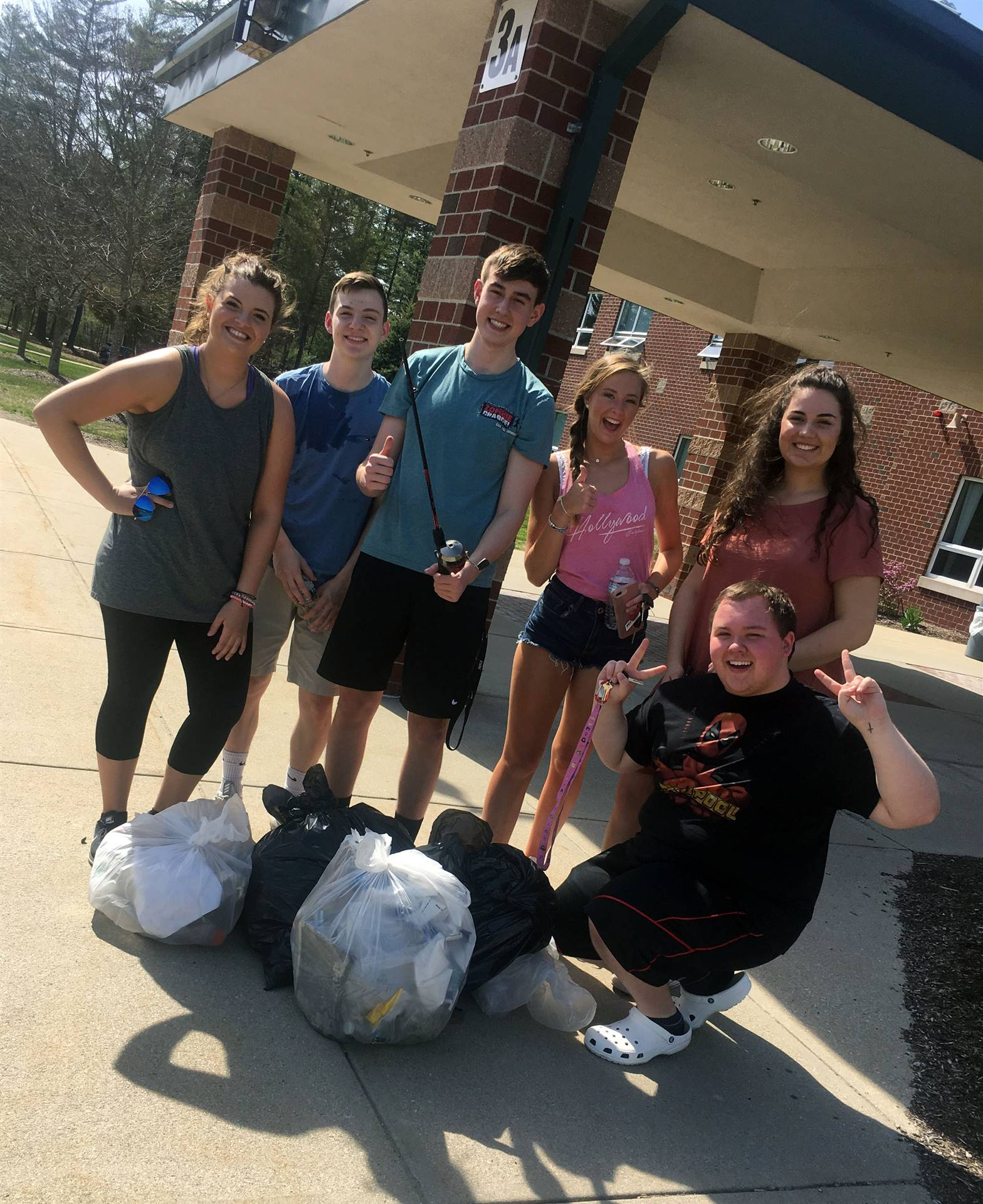 National Honor Society Spring Clean-up