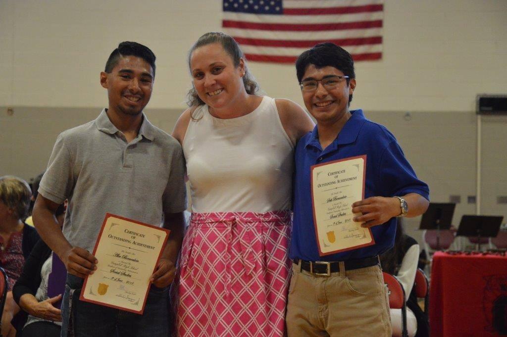 Outstanding Achievement in Social Studies