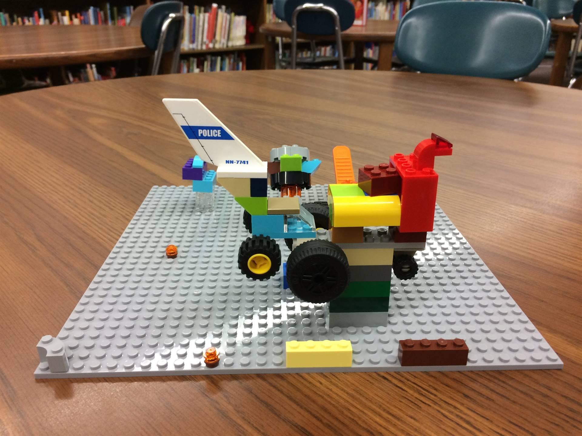 Learning Fun in the Library
