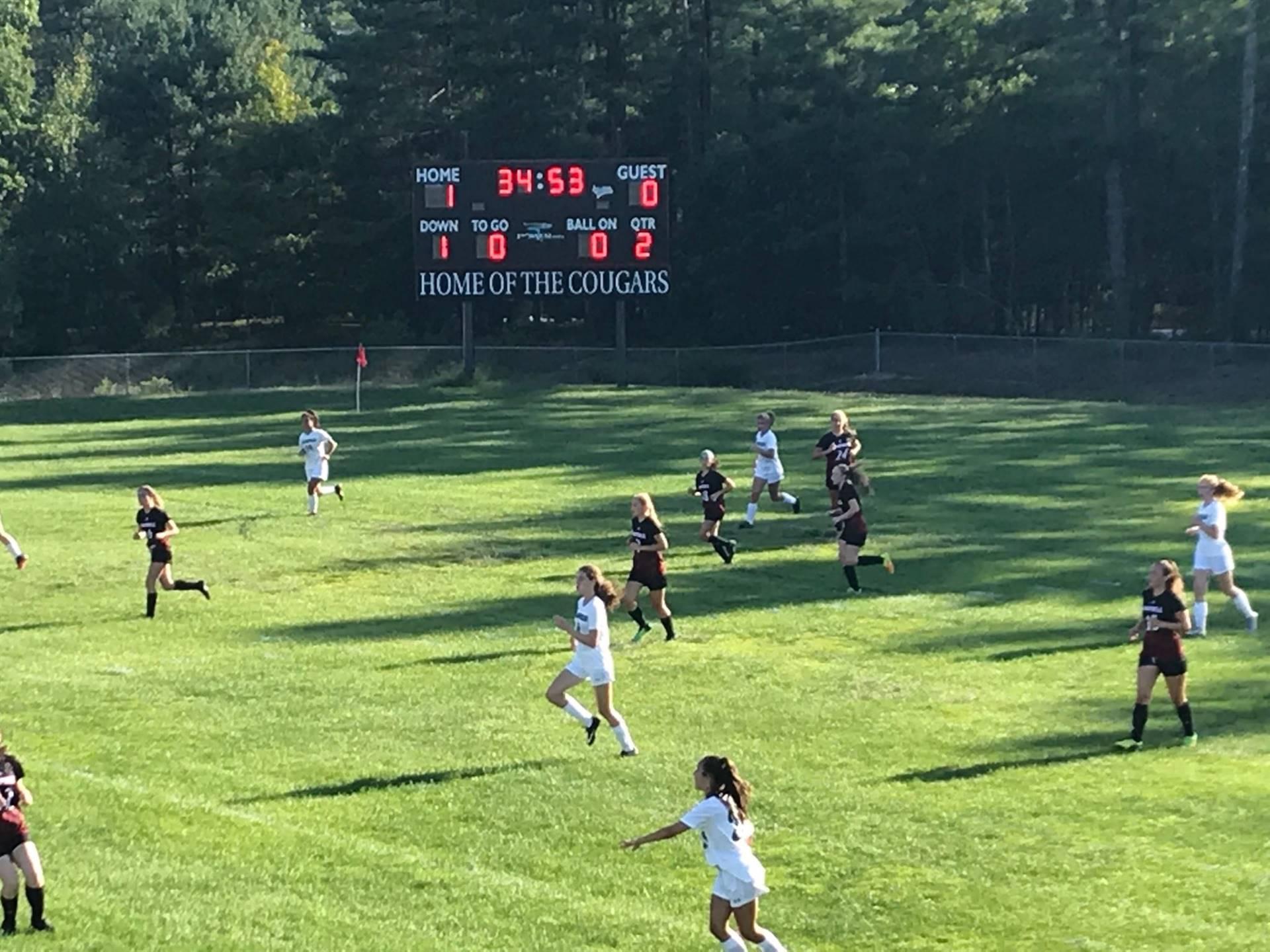 CHS Girls Soccer against Hopkinson