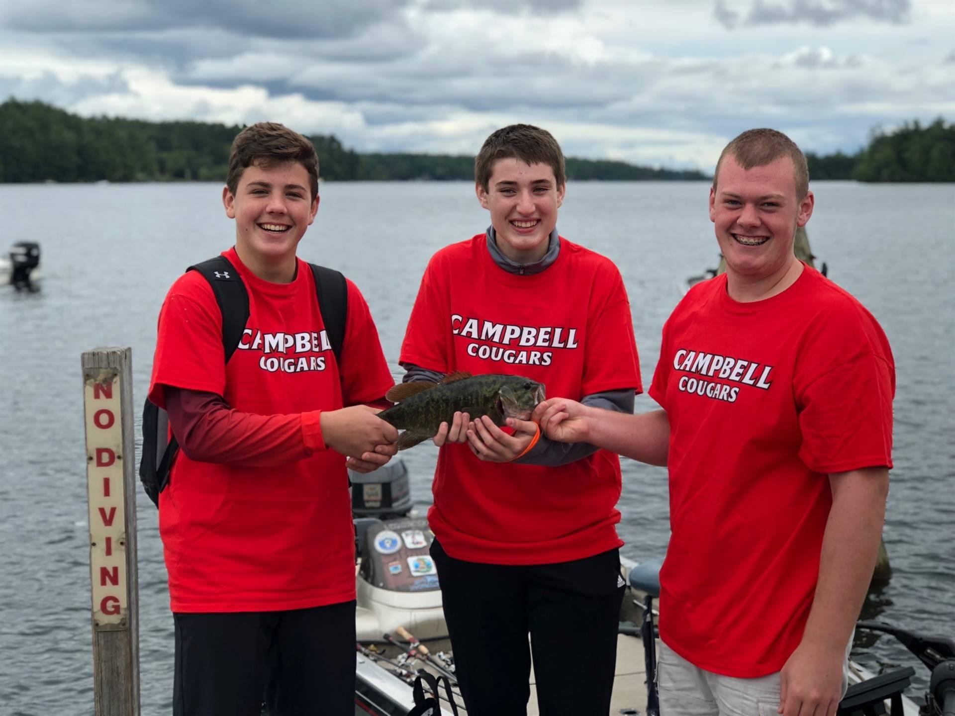 NHIAA Bass Fishing State Qualifier!