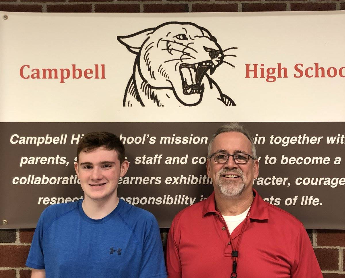 CHS September Student of the Month - Alex Jozitis