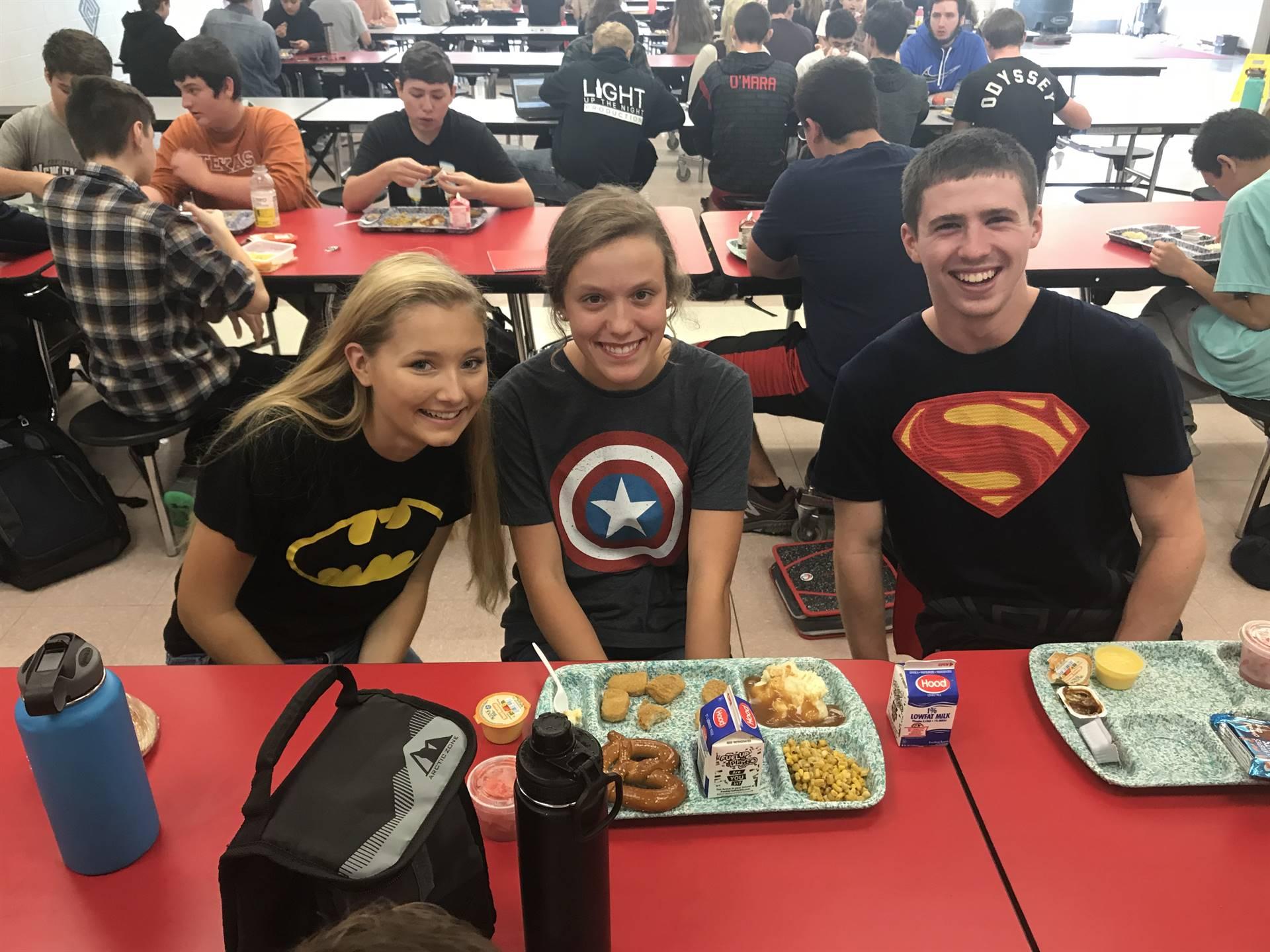 Homecoming- Super Hero Day