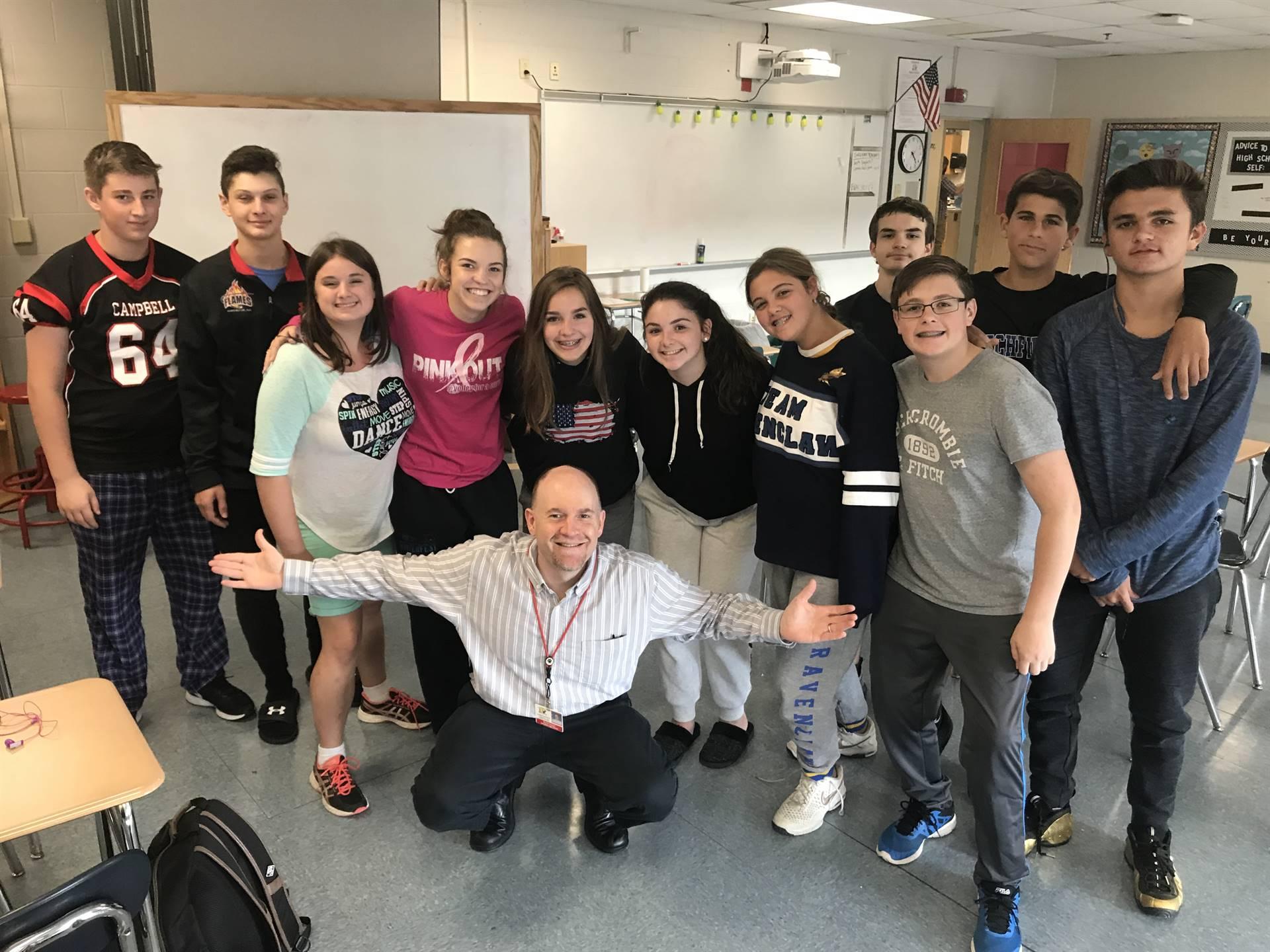 Mr Gingras' Freshman Seminar