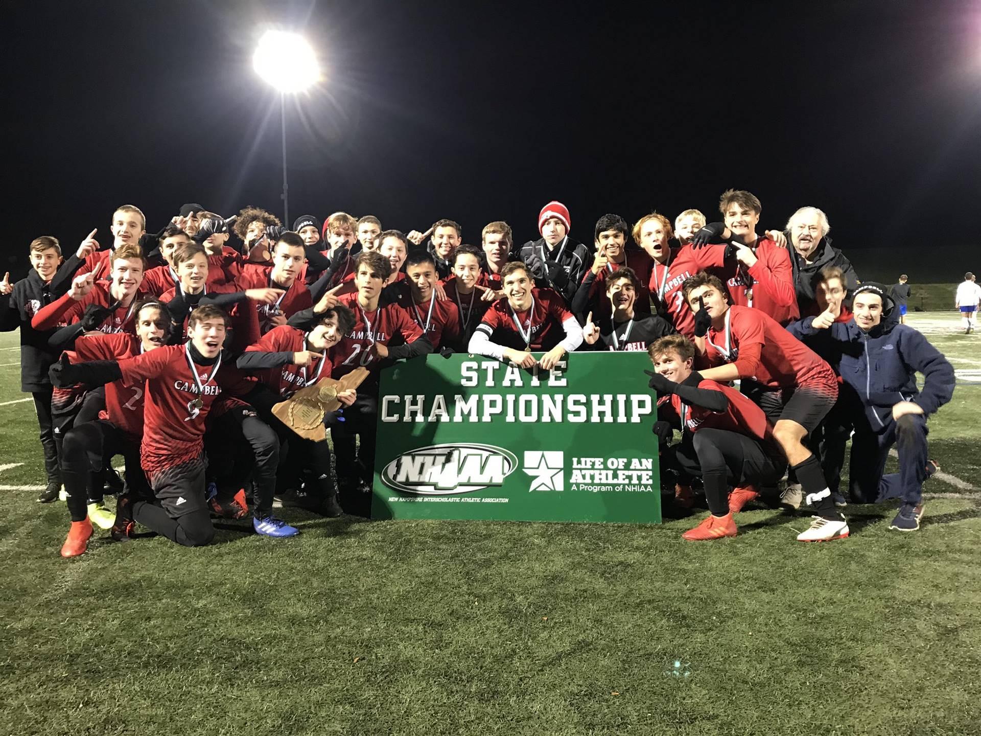 2019 NHIAA Division III Boys Soccer Champions!