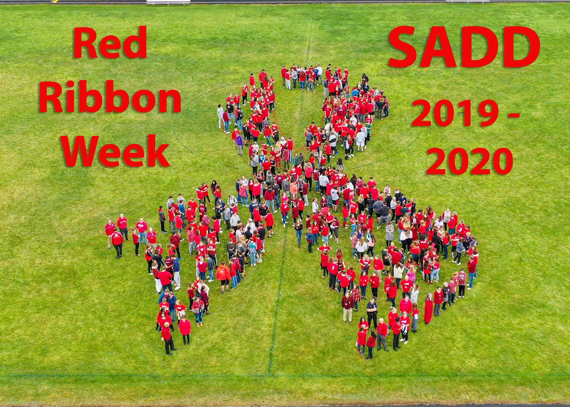 SADD Red Ribbon Week 2019-2020