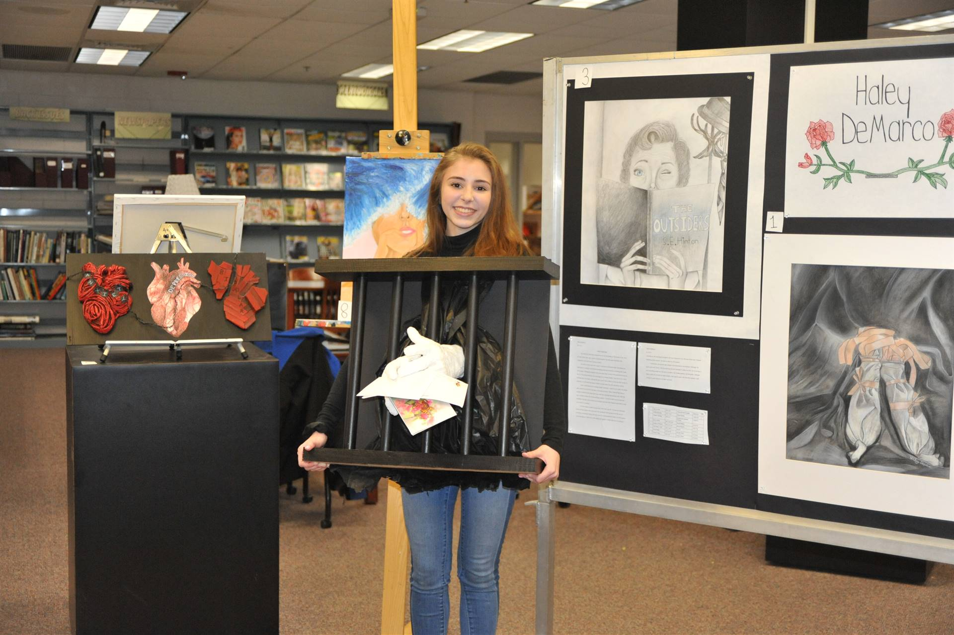 CHS Art Show- Haley