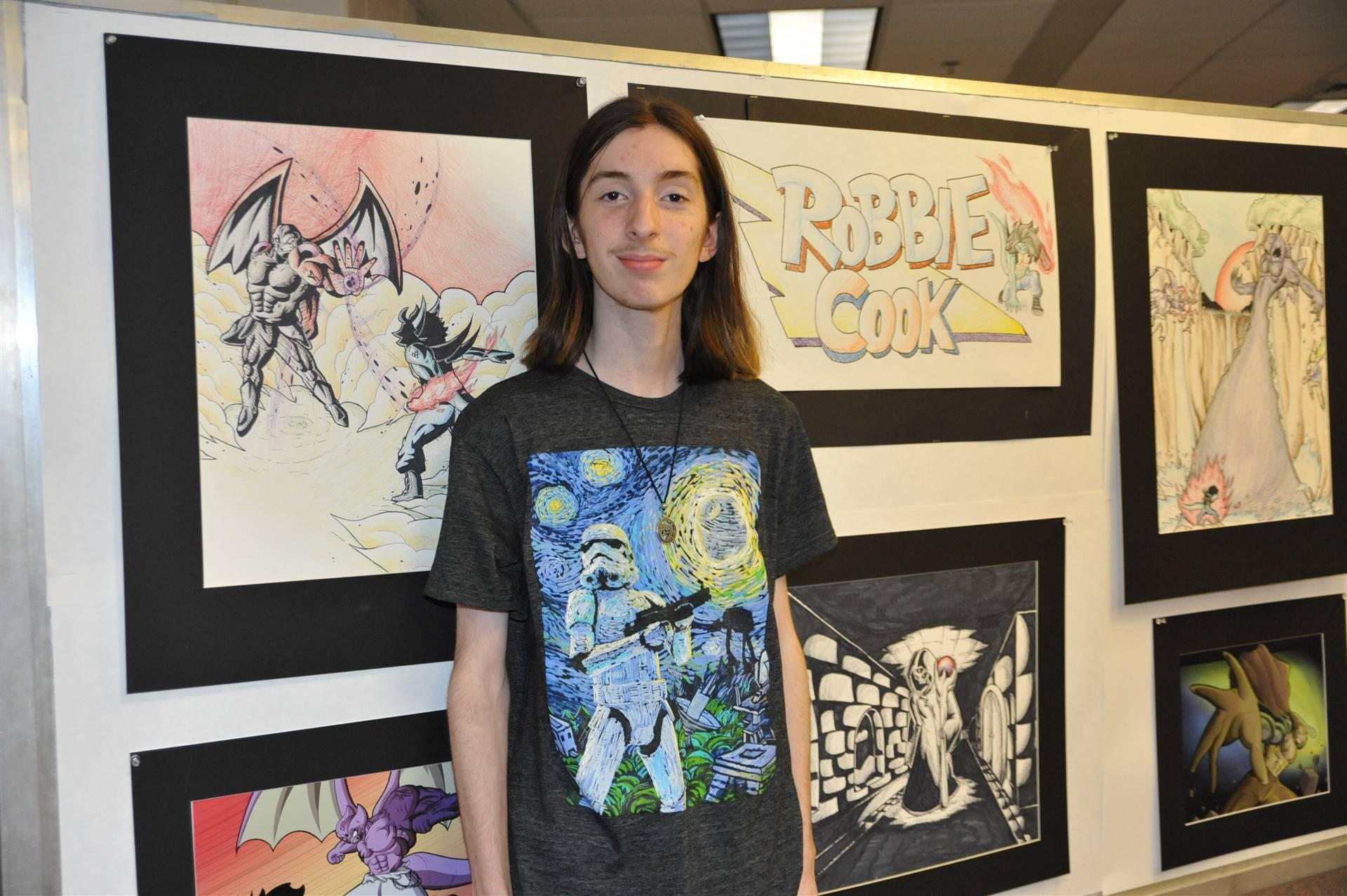 CHS Art Show- Robbie