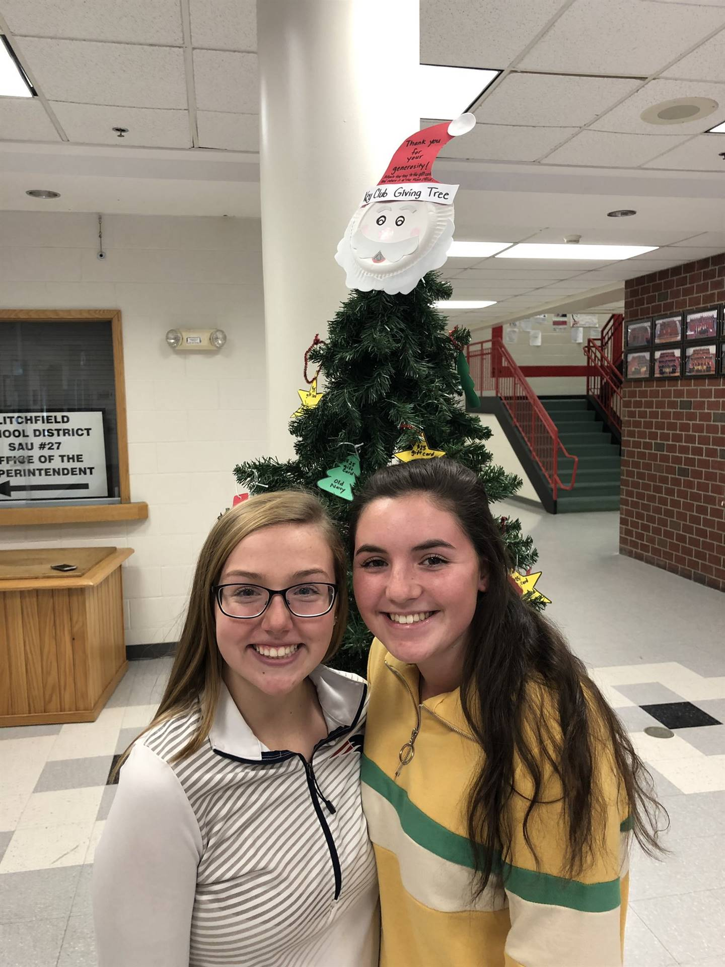 CHS October Stars of the Month -Emily Gamache and Emma Montenero