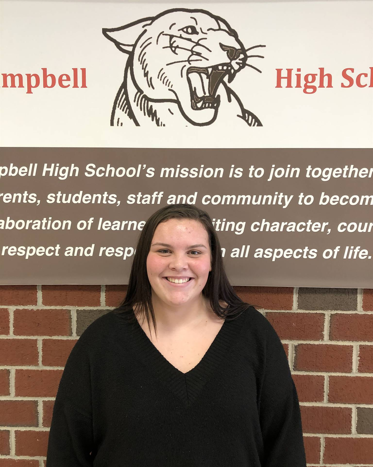 CHS December Student of the Month - Taylor Bieren