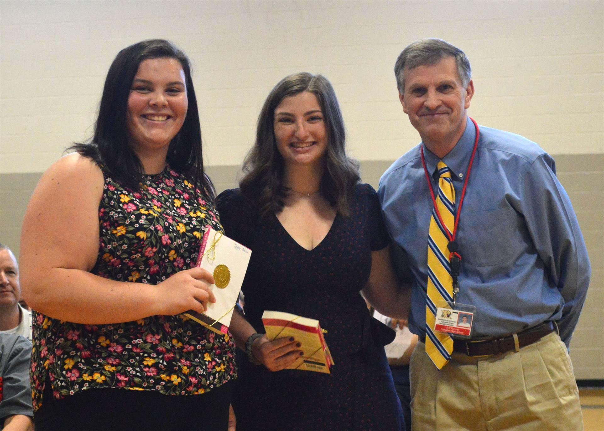 Book Award- Taylor & Kasey