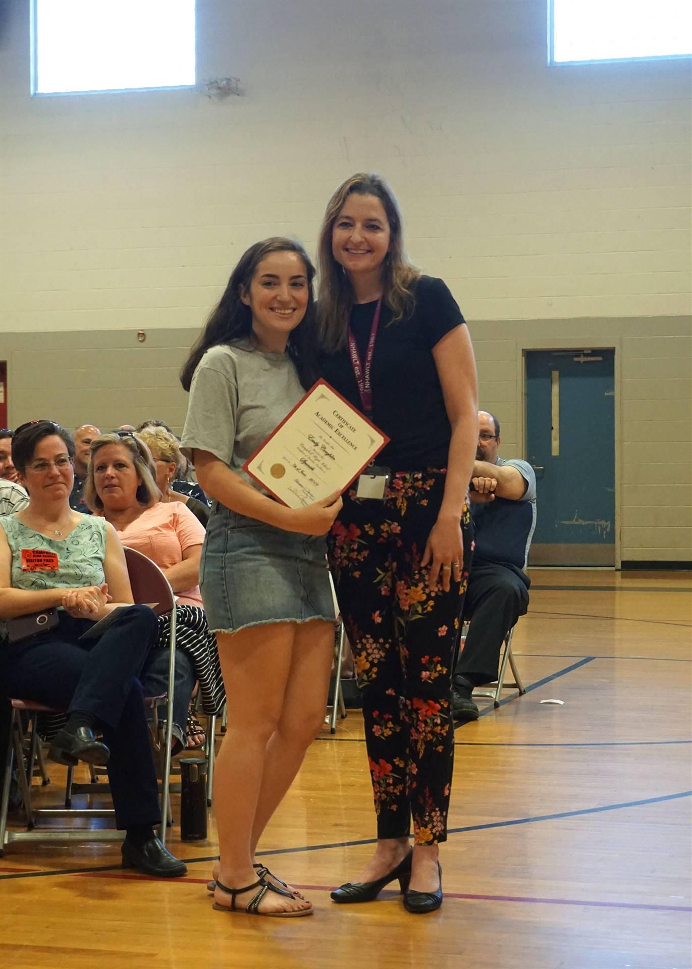 Spanish Department Award
