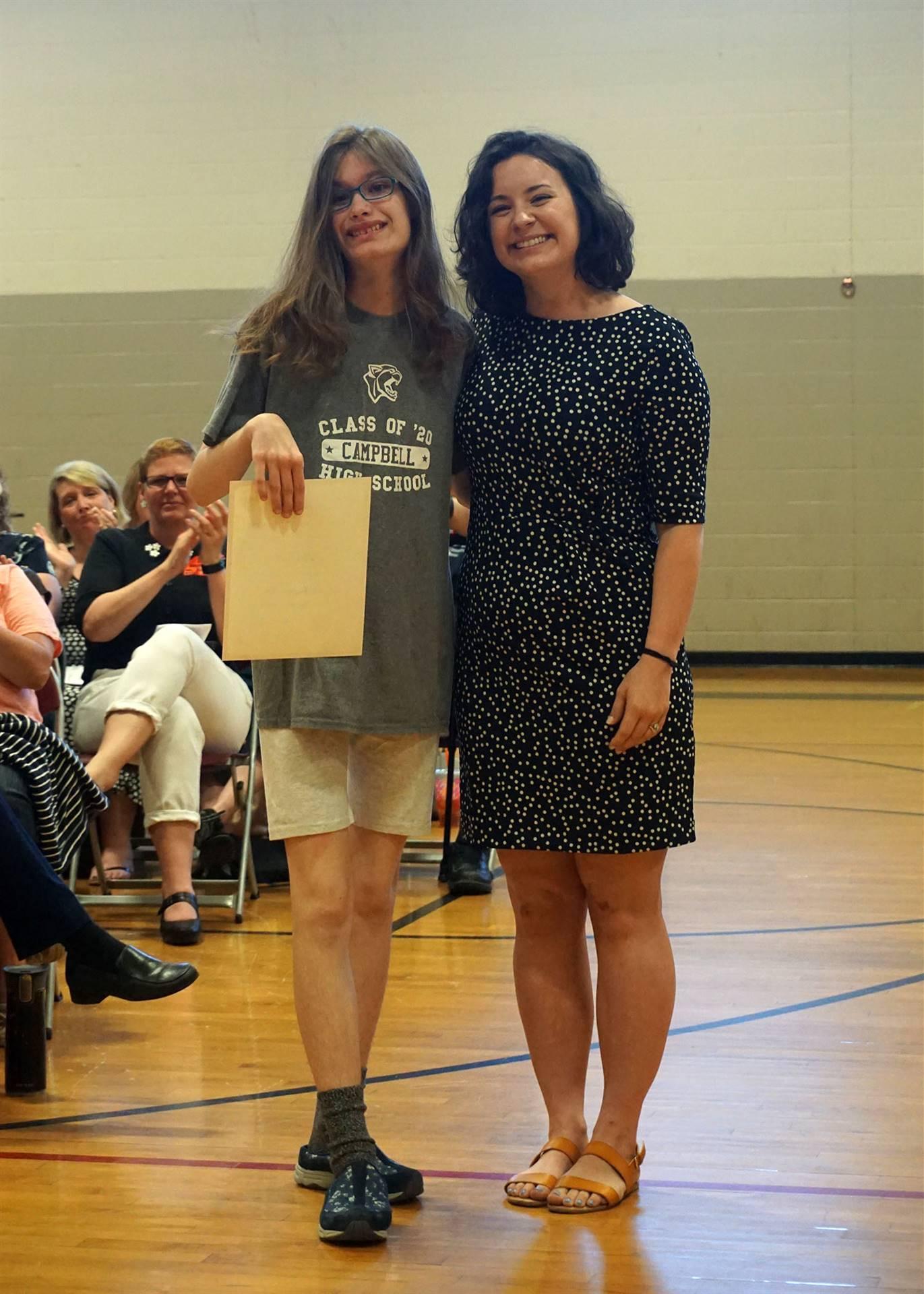 Performing Arts Department Award