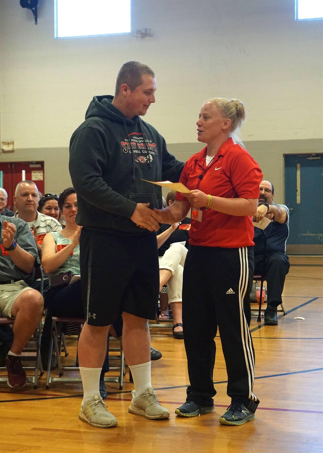 Physical Education Department Award