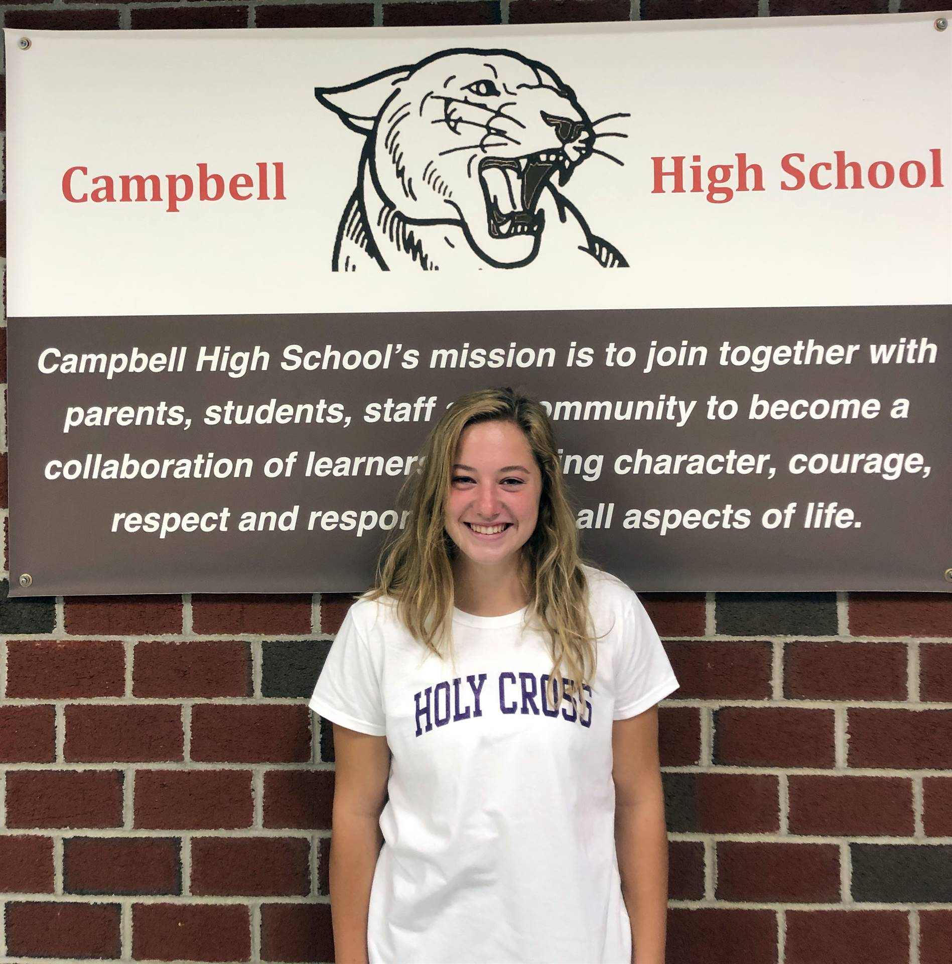 CHS September Student of the Month - Mackenzie Wagner