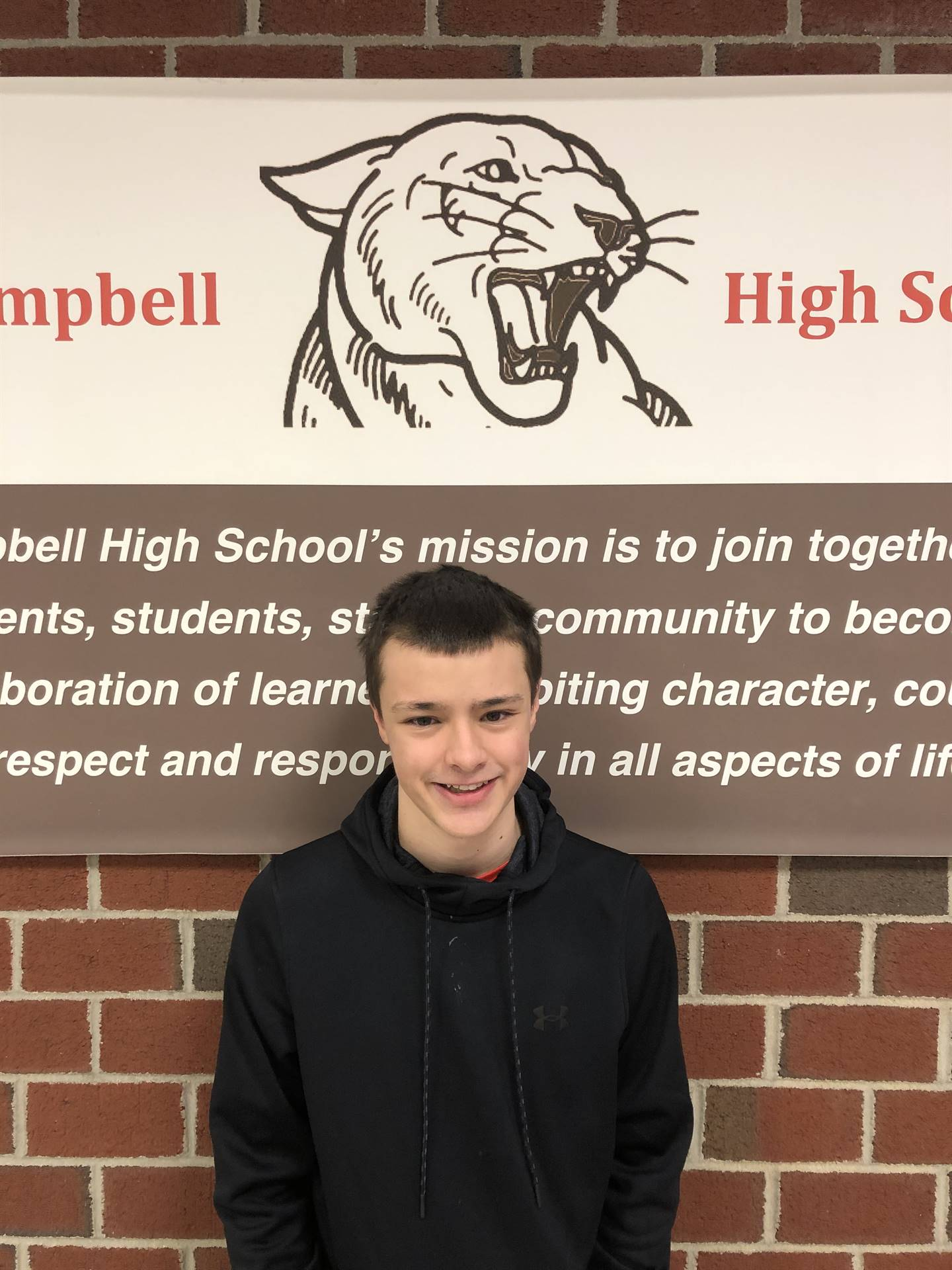 CHS January Student of the Month - Cam Norton
