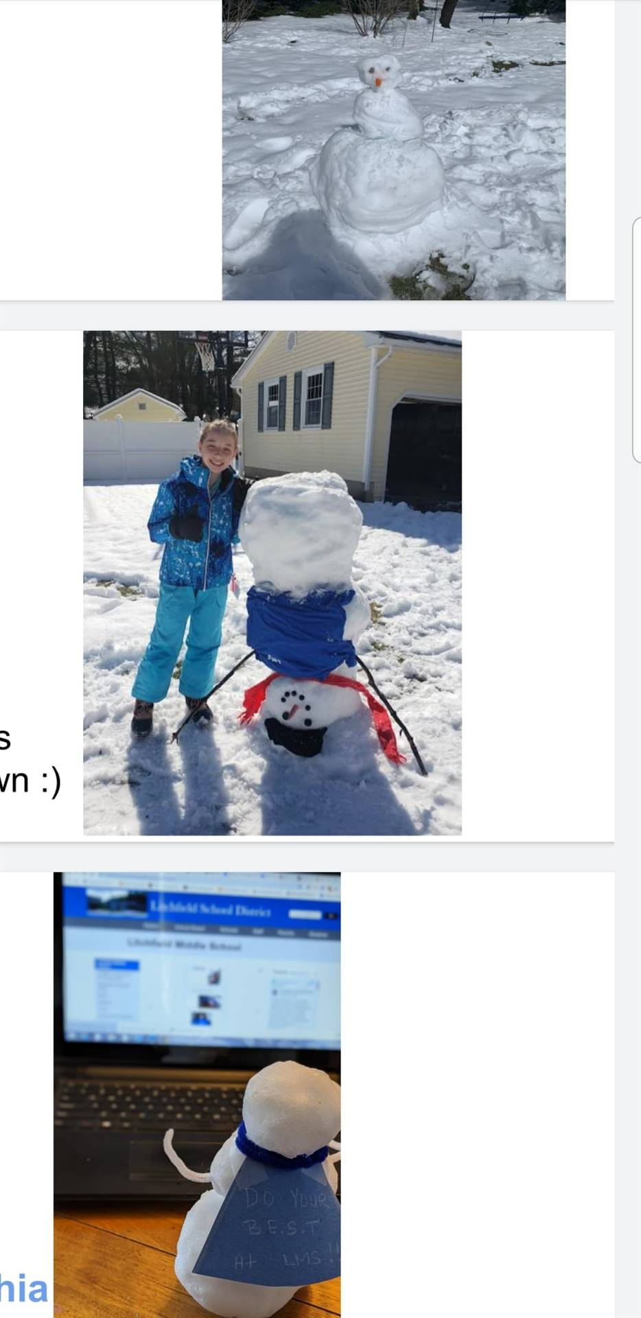 Snowman Challenge