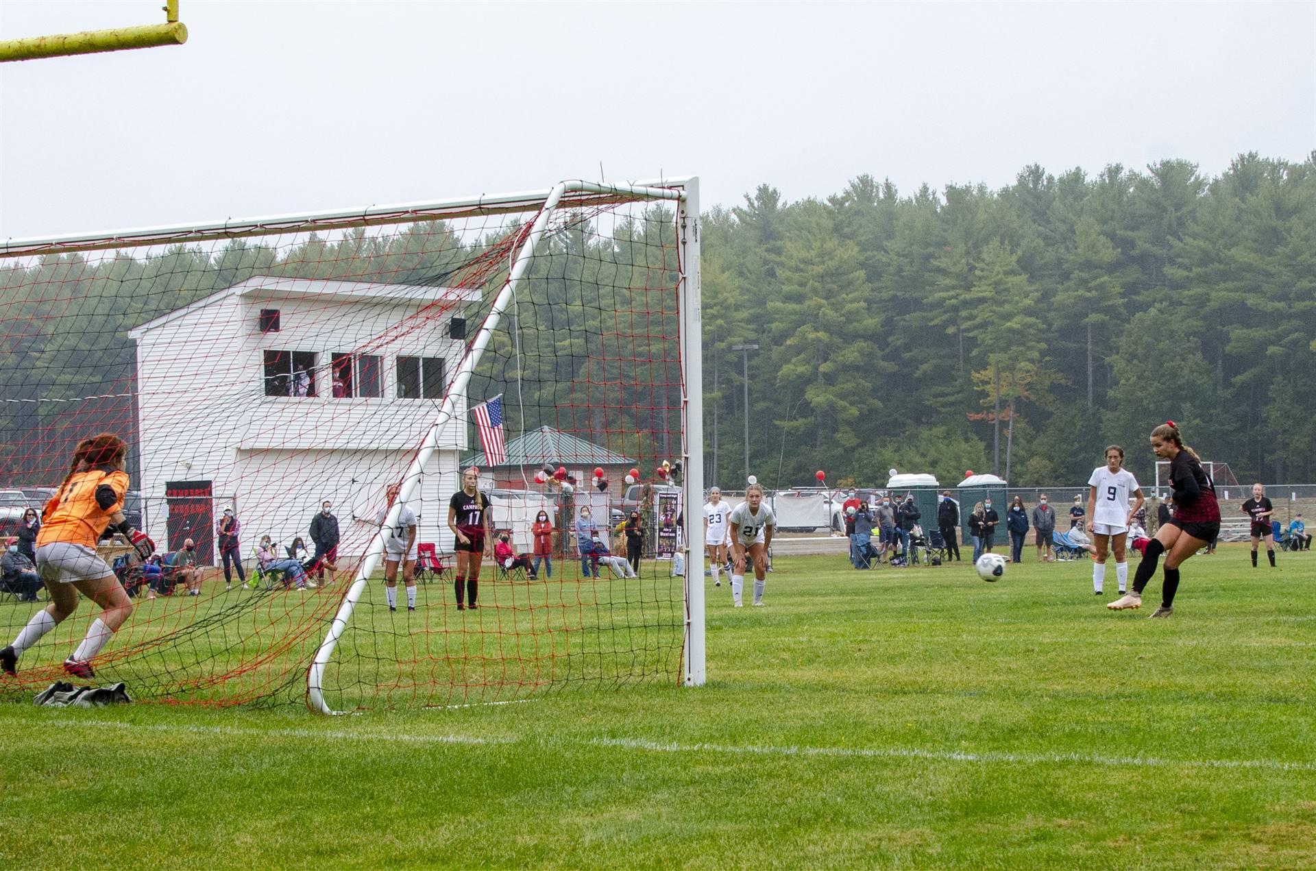 Karleigh's penalty kick
