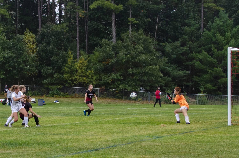 Josie making the goal